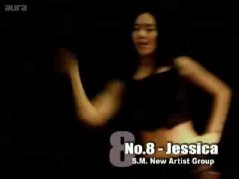 SNSD Jessica Sexy dance (Naughty Girl)