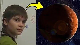 Russian Boy Claims He Lived on Mars in a Past Life, and He Brought a Warning About Earth's Future