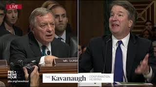 Durbin to Kavanaugh: Ask White House for an FBI probe to clear your name