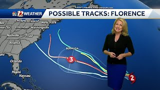 WATCH: Hot Afternoons, Weekend Storm Chances, and Tracking Hurricane Florence