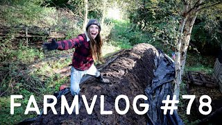 'COMPOST' with NO TURNING   BOKASHI REVEAL   FOOD FOREST PERMACULTURE FARM & NO DIG MARKET GARDENING
