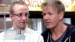 Violent 22 Year Old Head Chef Rates His Own Food 5 out of 10! | Kitchen Nightmares