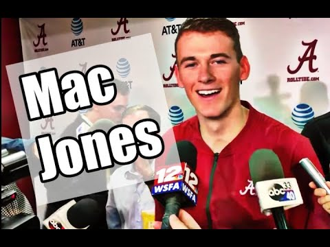 Mac Jones post-game interview against Arkansas
