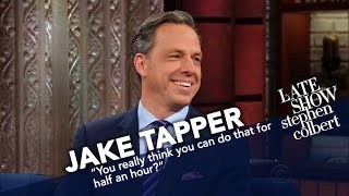 Jake Tapper's Job Isn't To Be Liked
