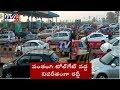 Festival rush: Heavy traffic on highway towards Vijayawada