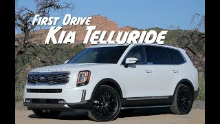 First Drive: The 2020 Kia Telluride