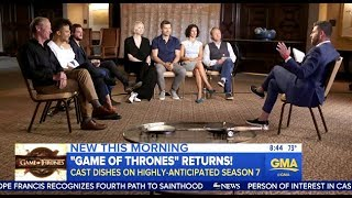Cast Of Game Of Thrones - Chats Winter Is Coming (Season 7)