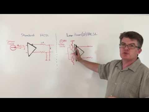Standard HCSL vs. Low-Power HCSL (LP-HCSL) Output Signaling