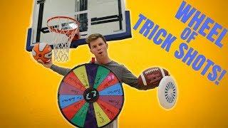 Wheel Decides Your Trick Shot *BATTLE!*