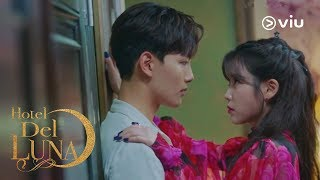IU pushes Yeo Jin Goo against the wall 🙈 | Hotel Del Luna EP10 [ENG SUBS]