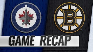 Connor, Hellebuyck lead Jets past Bruins in shootout