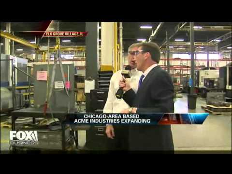 Fox Business Video-Acme Industries COO  We're Growing, Need Workers