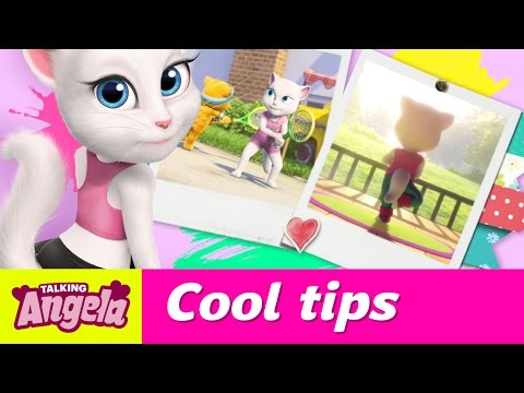 Talking Angela's Cool Tips to De-Stress