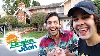 SURPRISING JOSH WITH DRAKE AND JOSH HOUSE!!
