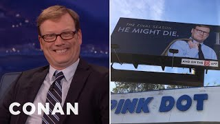 """Andy Daly On The Things Forrest Will Never Get To """"Review""""  - CONAN on TBS"""