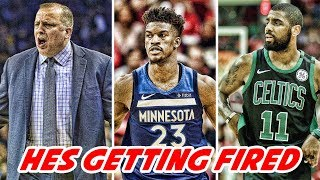 NEW JIMMY BUTLER KARL ANTHONY TOWNS BEEF EMERGES! Kyrie Hints at STAYING WITH CELTICS!| NBA News