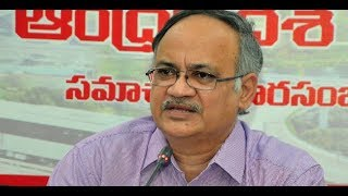 LIVE: AP Planning Commission Vice-Chairman Kutumba Rao pre..