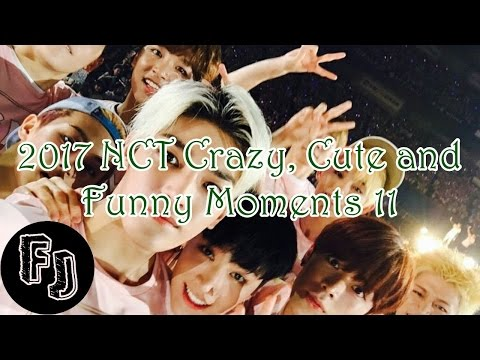 2017 NCT Crazy, Cute and Funny Moments 11