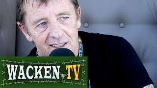 Phil Rudd (ex-AC/DC) - Interview at Full Metal Cruise V
