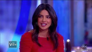 Priyanka Chopra on the View