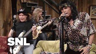Wayne's World: Aerosmith - SNL