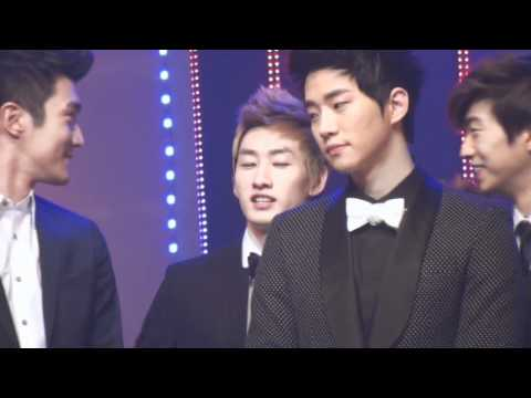 [Fancam] 111230 KBSdaejun Eunhyuk Focus *so cute* [cr:봉봉]
