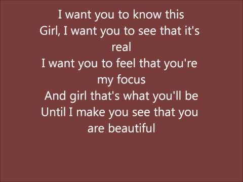 Ruben Studdard- Make ya feel beautiful with lyrics