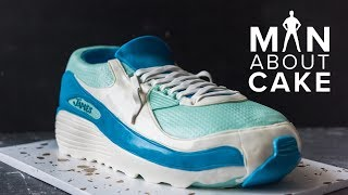 Best Friends SNEAKER Cake!   Man About Cake with Joshua John Russell