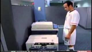 Landon Donovan and the Copier, ESPN Commercial