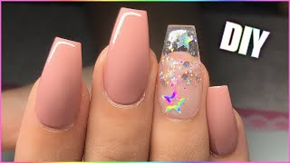 DIY Easy Perfect Gel Nails for Beginners! Après DUPE Method