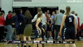 Žestoka tuča košarkašica na utakmici (VIDEO)