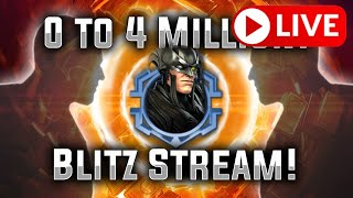 0 to 4 Million! - STRYFE BLITZ - MARVEL Strike Force - MSF