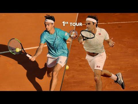 Roland-Garros 2019 : Le résumé de Sonego - Federer