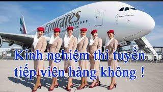 Chia sẻ kinh nghiệm thi tuyển tiếp viên hàng không, Tiếp viên hàng không