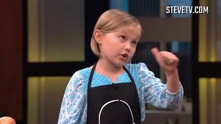 Tiny Chef Molly Makes Butternut Squash Ravioli with Steve Harvey