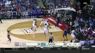 TCU vs Kansas   2016-17 Big 12 Men's Basketball Highlights