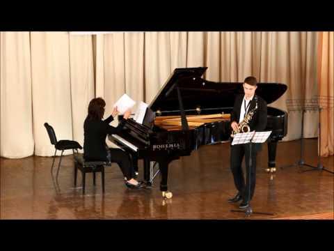GOLDEN SAXOPHONE 2015. Daniil Dovbysh. Duo Concerto, Roberto Marino