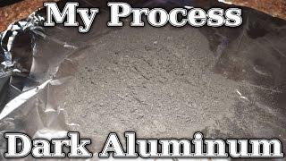 How To: Easy Bulk Dark Aluminum Powder (My Homemade Process)