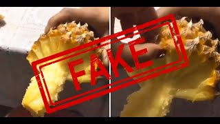 Viral Pineapple Hack A Hoax?