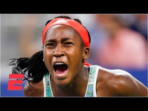 Coco Gauff wows in 3-set thriller to advance past Timea Babos | 2019 US Open Highlights