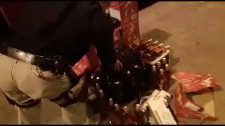 PRF apreende mais de 300 litros de bebidas importadas de forma ilegal em Pantano Grande