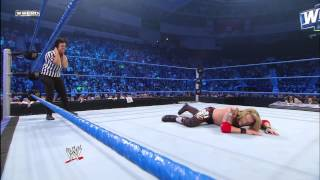 Vickie Guerrero attempts to spear Edge: Feb. 11, 2011