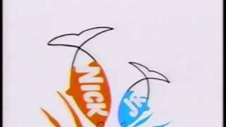 Classic Nick Jr Bumper (Early 90's)  - Fish Eating Seaweed