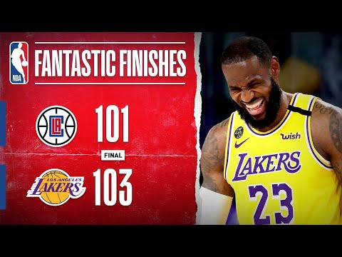 Clippers at Lakers CLASSIC Ends In Dramatic Fashion!