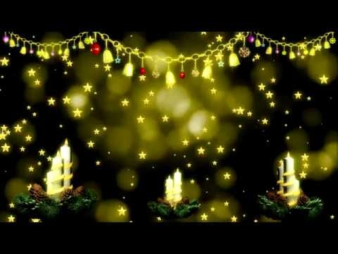 4K Merry Christmas Video Background, Christmas Light Motion Background.