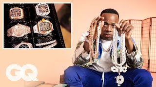 Yo Gotti Shows Off His Insane Jewelry Collection | GQ