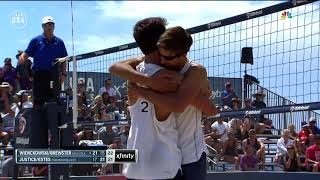 Wienckowski/Brewster Are Kings Of The Beach | Champions Series Presented By Xfinity