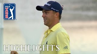 Justin Thomas' extended highlights   Round 4   Honda