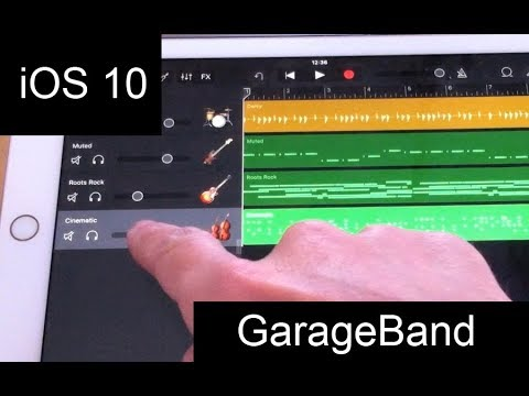 Garageband For Ipad Tutorial Videomovilescom