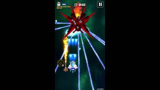 Galaxy Attack: Space Shooter- Boss Fight - Gameplay IOS & Android